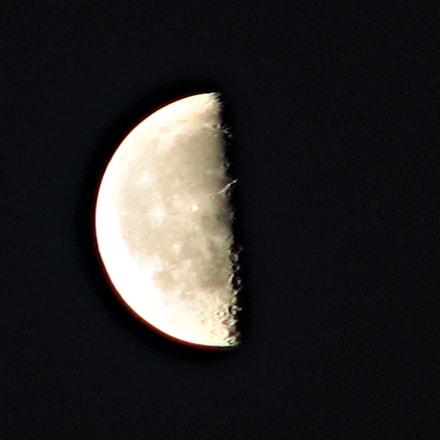 Moon, Canon POWERSHOT S2 IS