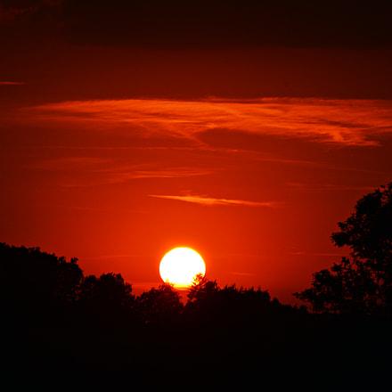 Sunset @ HOF, Nikon D3200, AF-S DX Zoom-Nikkor 55-200mm f/4-5.6G ED