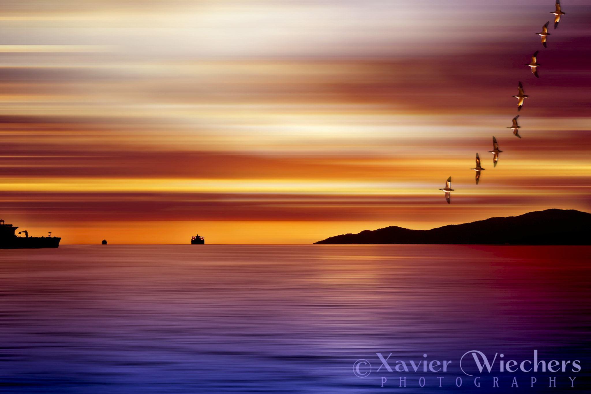 Photograph Sunset At Vancouver II by Xavier Wiechers on 500px