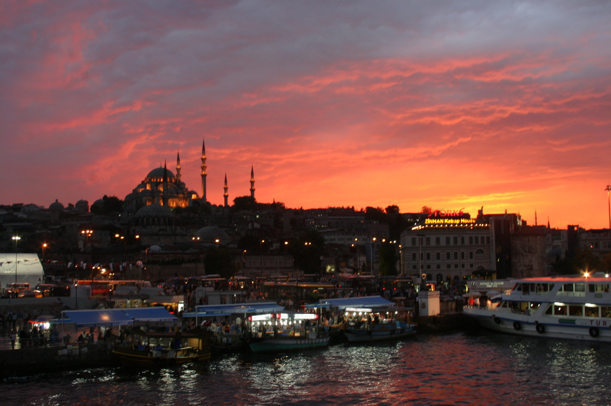 Photograph Sultan Ahmet Sunset by Malik Vision on 500px