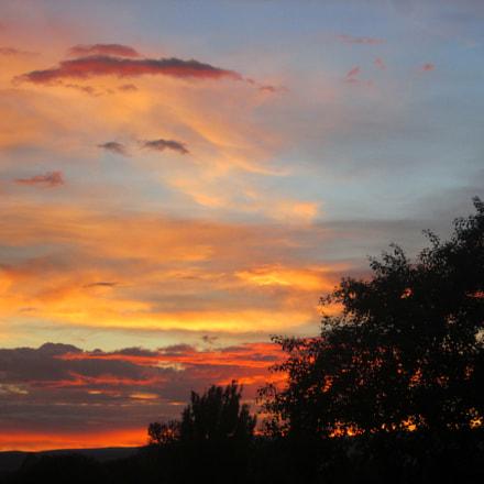 Sunset 05.06.18, Canon POWERSHOT A1400
