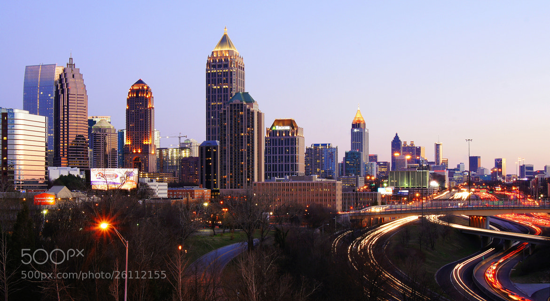 Photograph Atlanta Midtown-Downtown Twilight by Aric Jaye on 500px