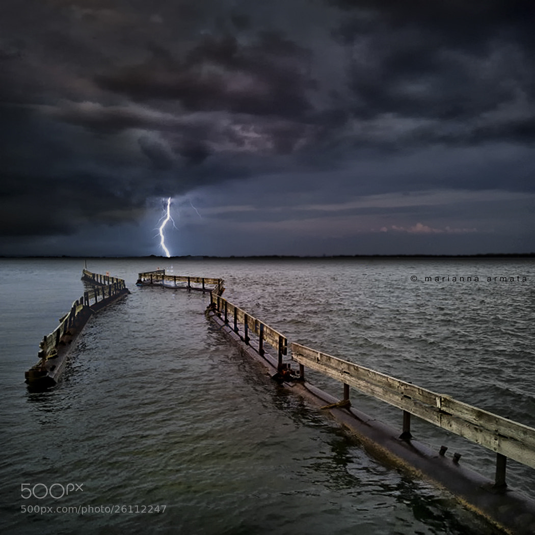 Photograph Storm over Lac St. Louis by Marianna Armata on 500px
