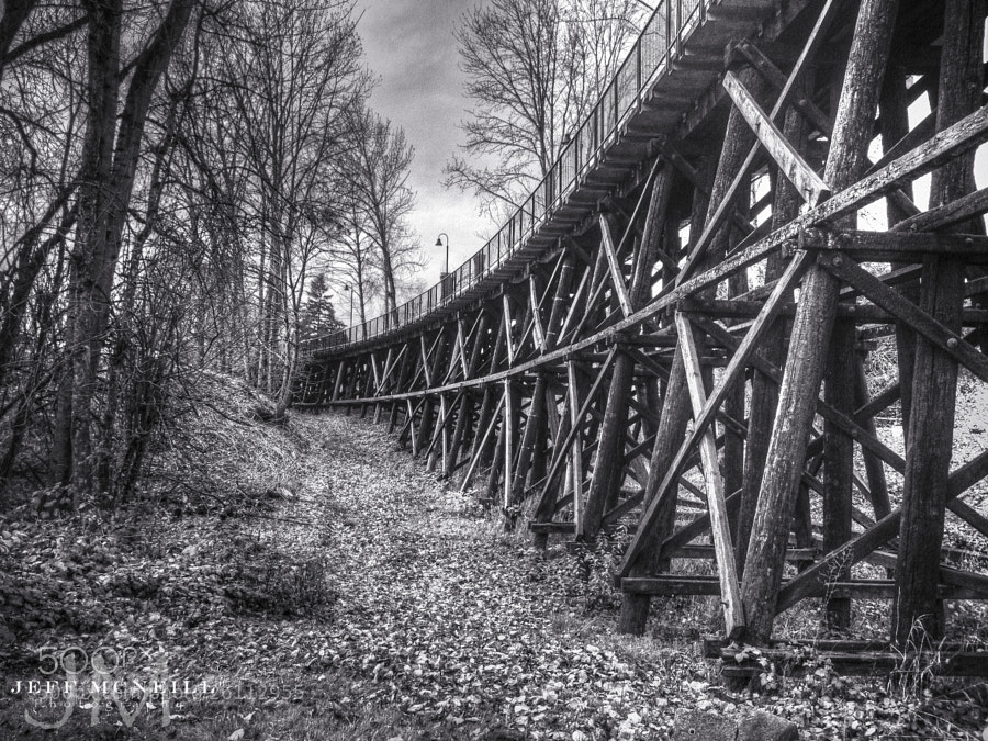 Photograph The Old Bridge by Jeff McNeill on 500px