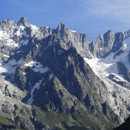 Mont Blanc, Sony DSC-HX20V