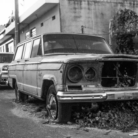 Auto Abandonado en San, Fujifilm FinePix S3Pro