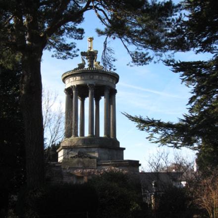 Robert Burns monument, Canon POWERSHOT SX220 HS