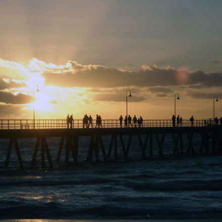 Glenelg Sunset, Sony DSC-W30