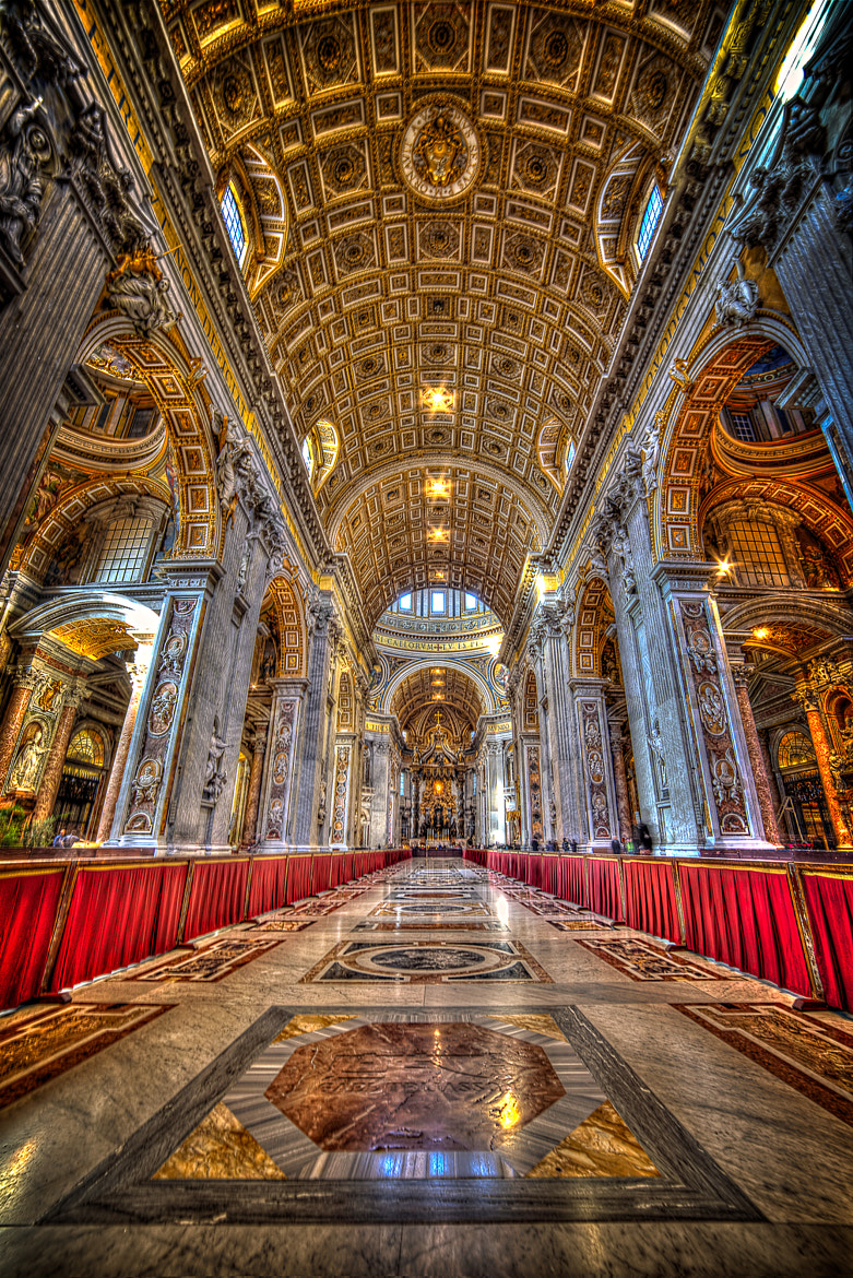 Photograph St Peter Basilica by gael photo.com on 500px