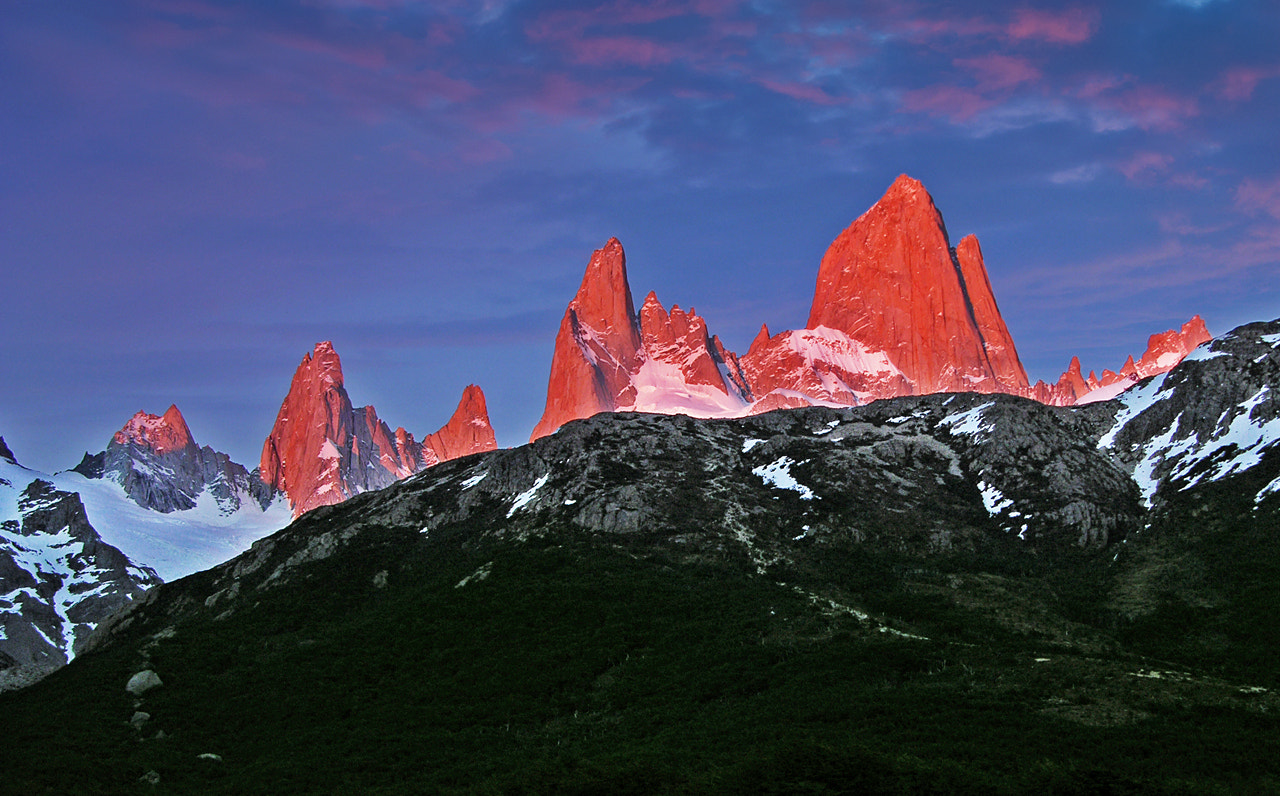 Photograph Fitz Roy sunrise by Stefan Cruysberghs on 500px
