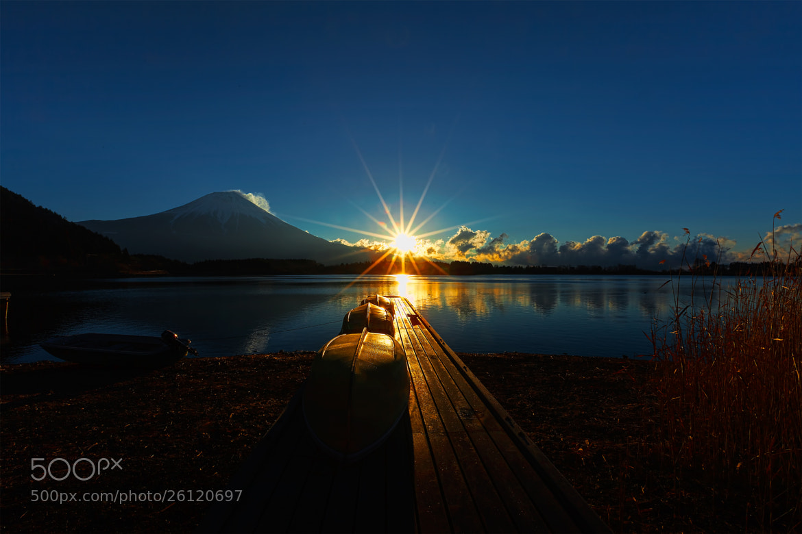 Photograph Rising Sun and Reflection by MIYAMOTO Y on 500px