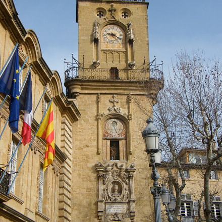 City hall - Aix, Fujifilm FinePix S8000fd