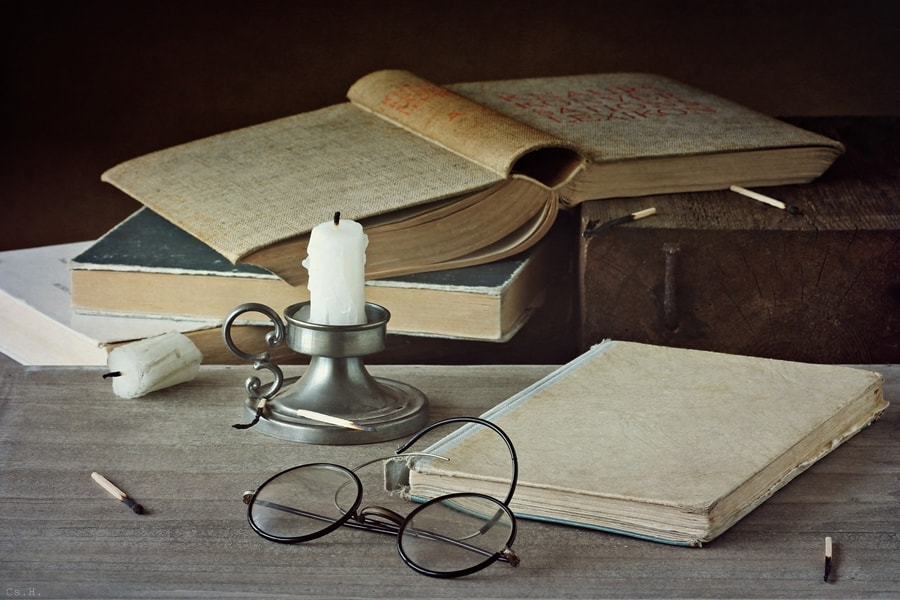 Photograph The book is a wonderful journey into the past and into the future by Cs. H. on 500px