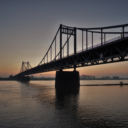 Bridge before sunrise., Sony ILCE-6500