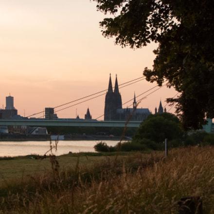 Sundown in Cologne, Fujifilm FinePix S100FS