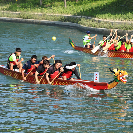 IMG 4804M Dragon boat, Canon EOS 6D MARK II, Canon EF 70-200mm f/4L IS