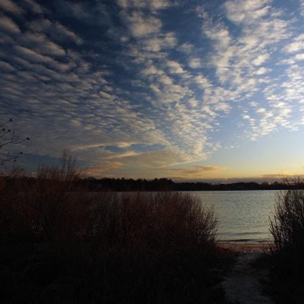 Sunrise Over the River, Fujifilm FinePix HS35EXR