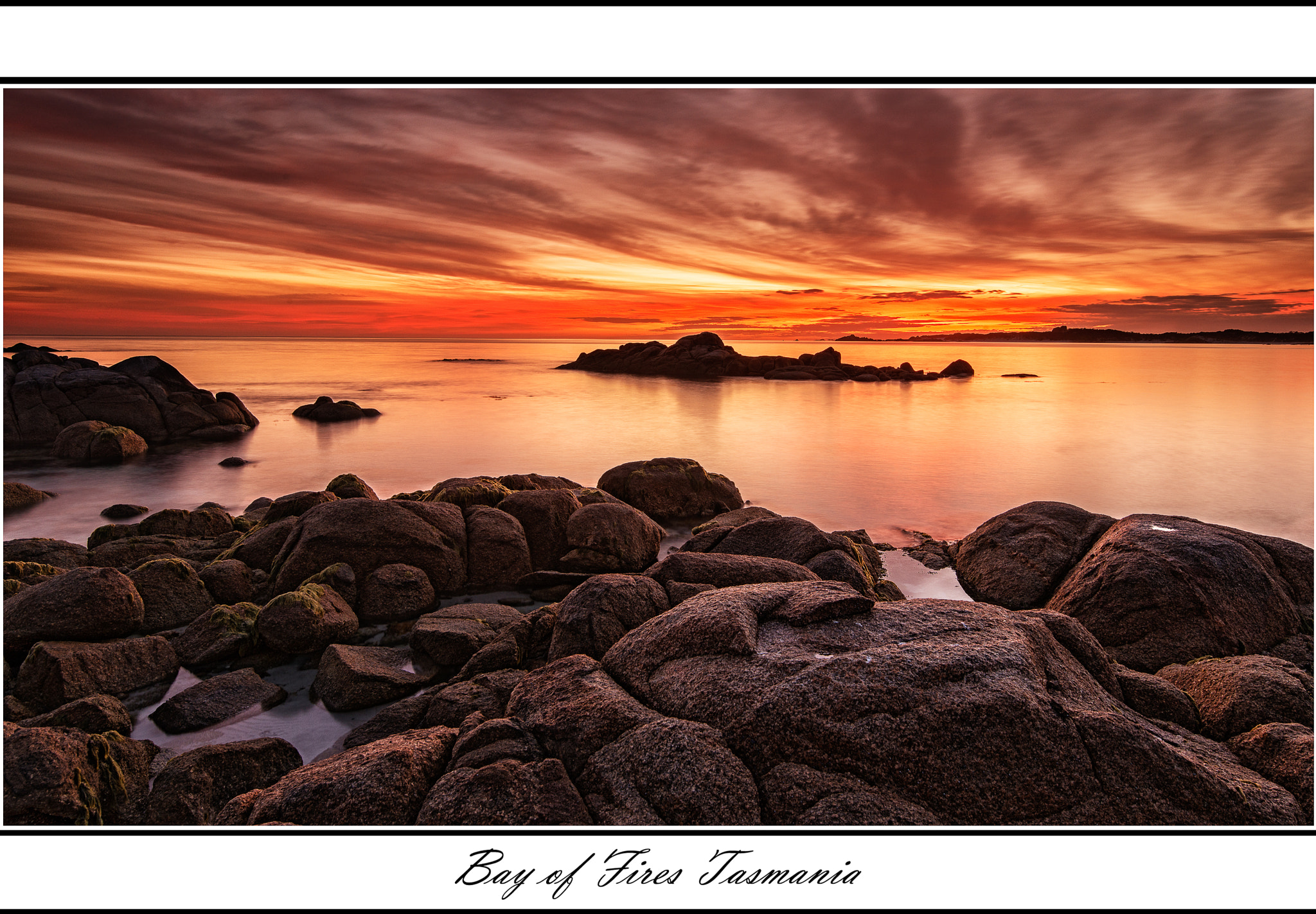Photograph Bay of Fires long exposure by Graeme Gordon on 500px