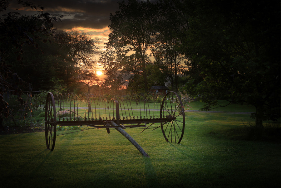 Sunset at the Farm by Howard Walsh on 500px.com