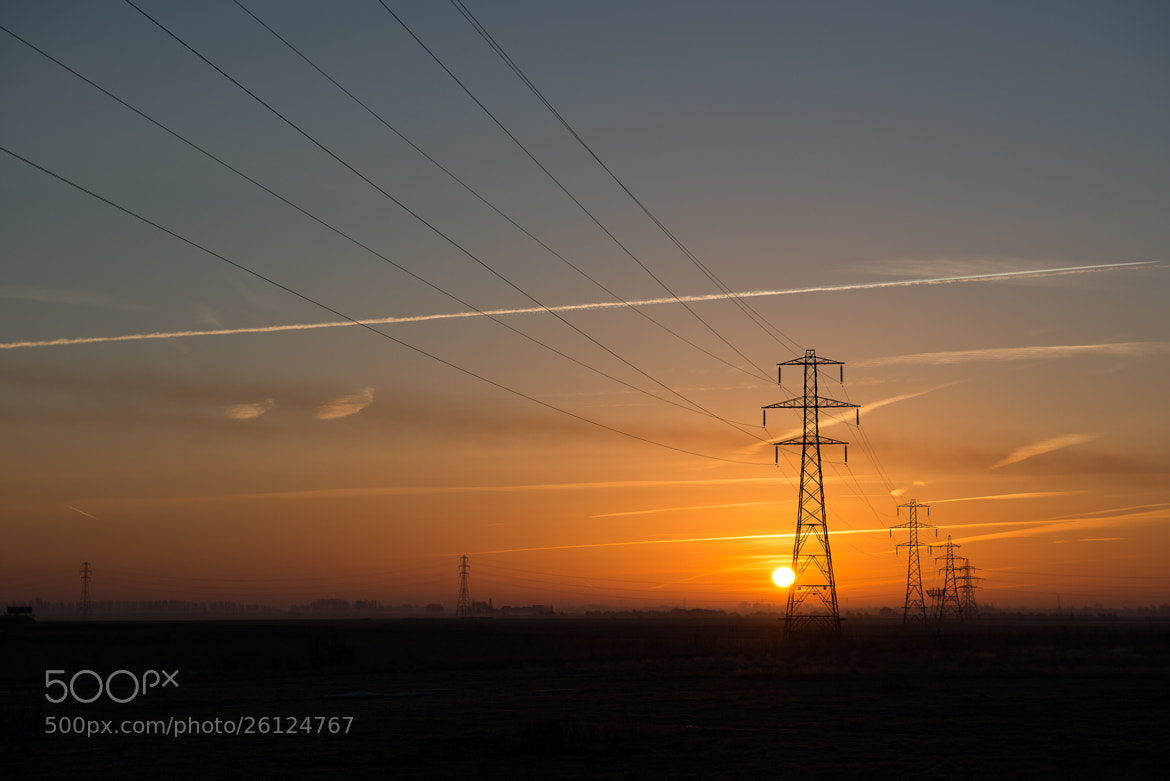 Photograph Fenland Sunrise by Jordan Butters on 500px