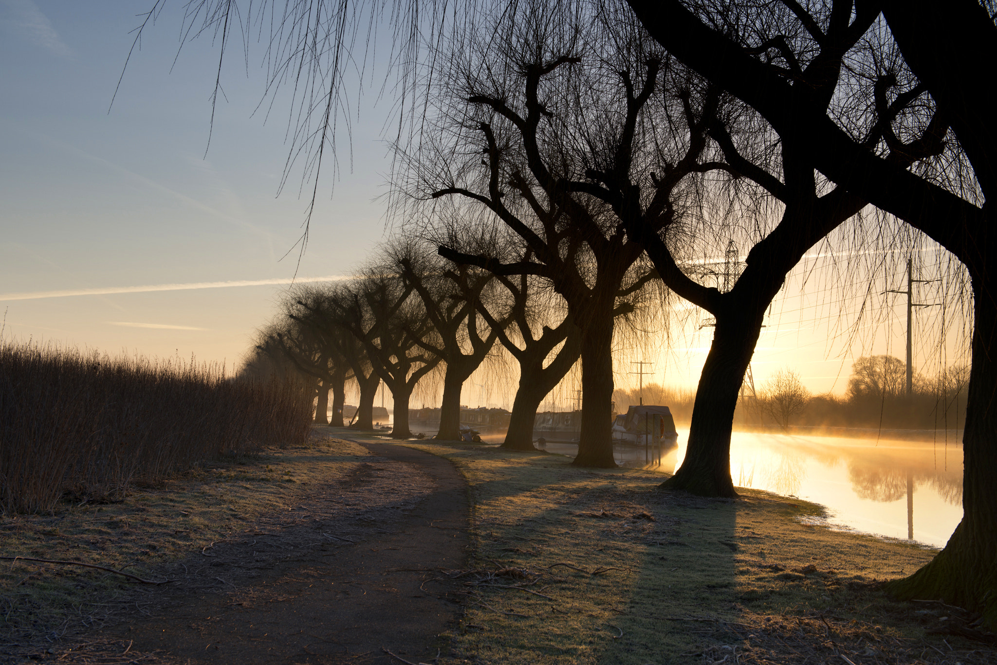 Photograph Sunrise over the River Nene by Jordan Butters on 500px