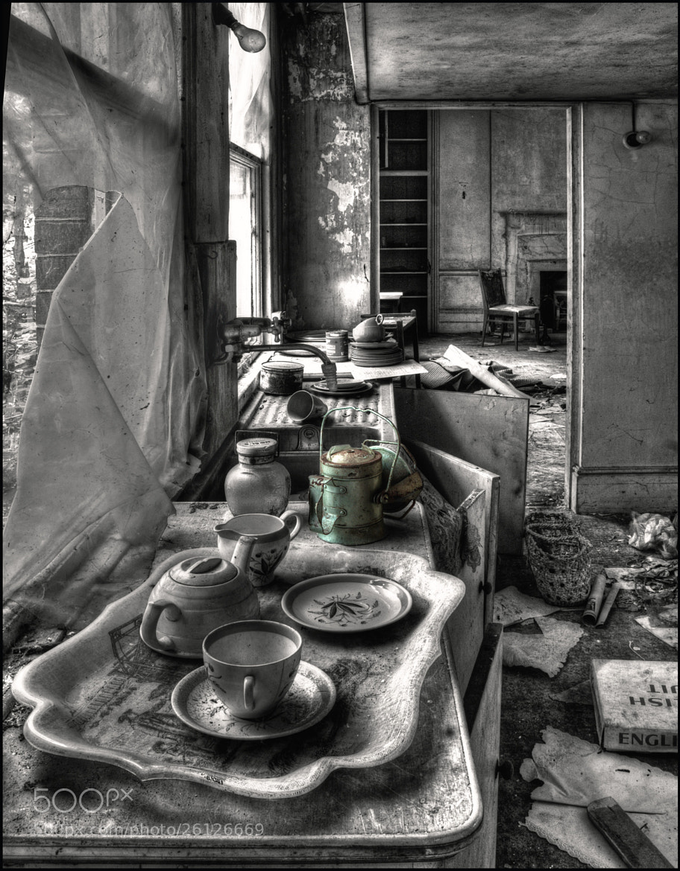 Photograph Potters Kitchen by Steve Clancy on 500px