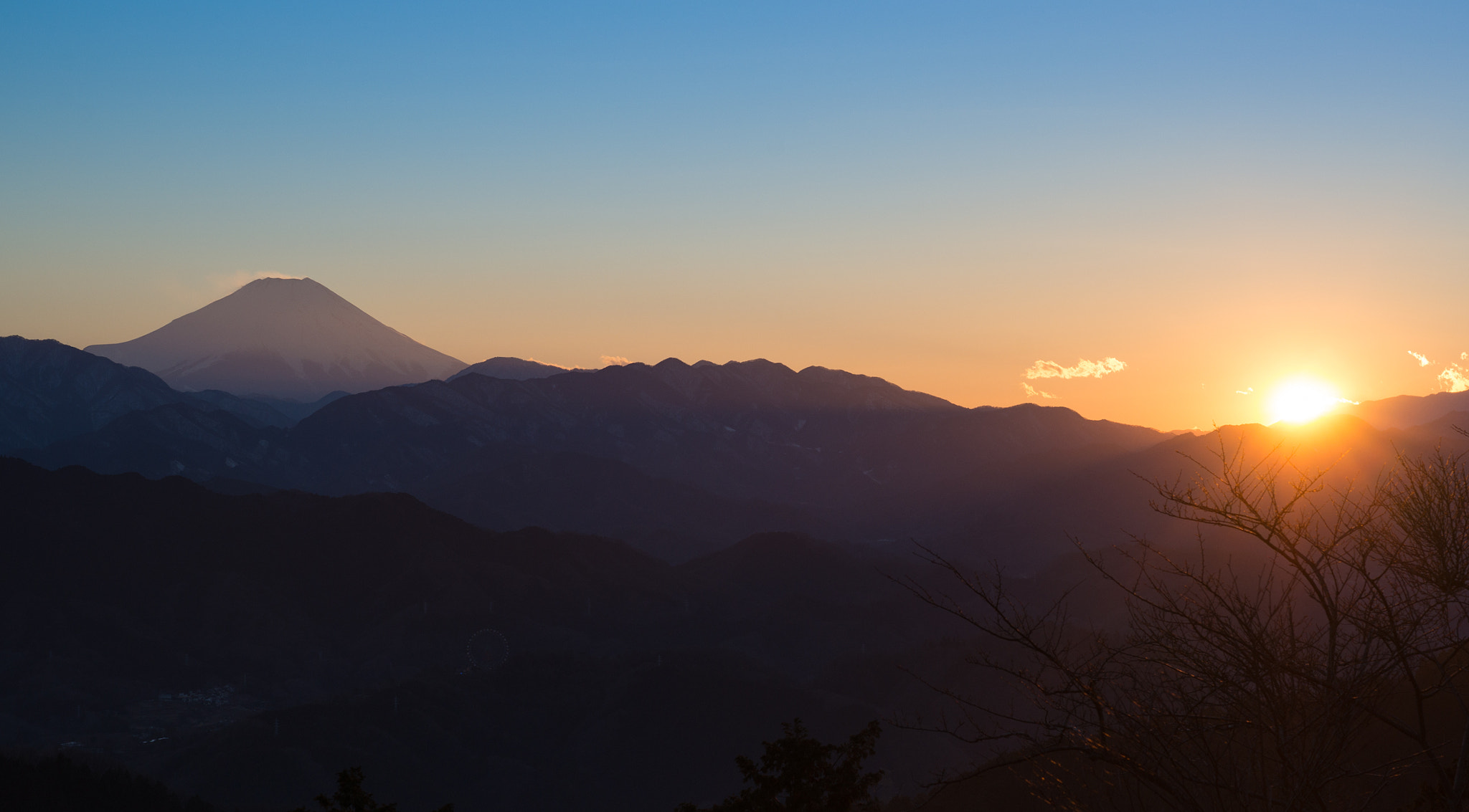 Photograph Mt. Fuji at Sunset by Ben Torode on 500px