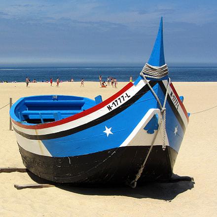 Nazaré ... on the beach !!!!, Canon POWERSHOT SX230 HS