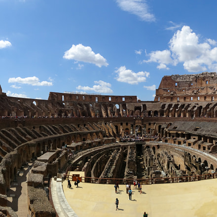 Colosseum, Rome, Sony DSC-HX20V