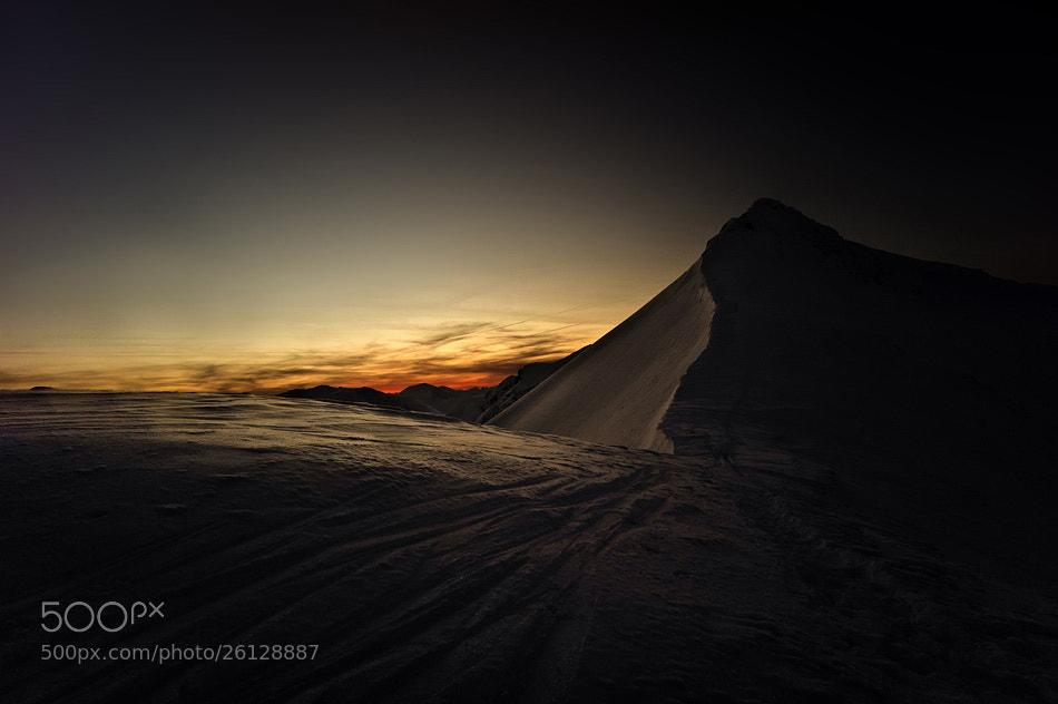 Photograph Sunset over the Tatra mountains by Marek Woźniak on 500px