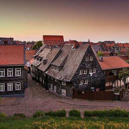 Slate houses in Goslar, Canon EOS 5D MARK III