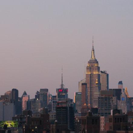 Эмпайр на закате, Nikon D300, AF Zoom-Nikkor 70-300mm f/4-5.6D ED