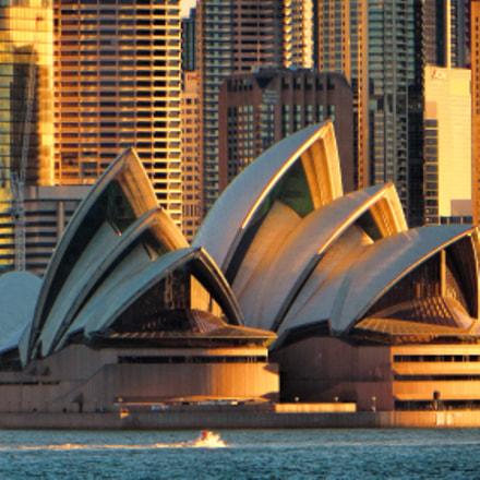 Sydney sunset, Canon POWERSHOT SX260 HS
