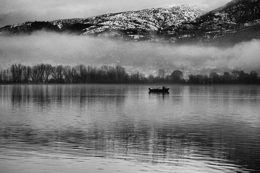 Photograph Fishing in the morning by VAIOS VISVIKIS on 500px