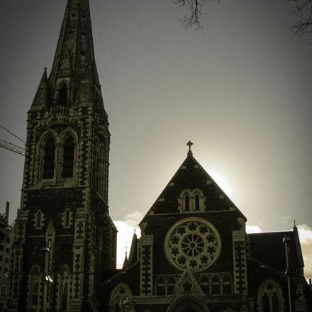 Christchurch Cathedral, 2009, Fujifilm FinePix S5000