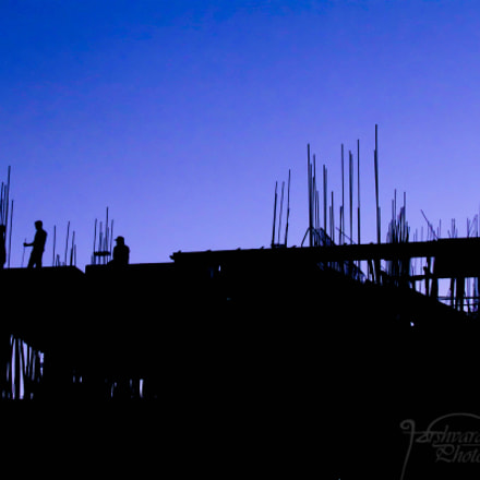 The blue hour..., Canon POWERSHOT SX30 IS