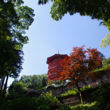 The five storied pagoda, Pentax K-30, smc PENTAX-DA L 18-55mm F3.5-5.6