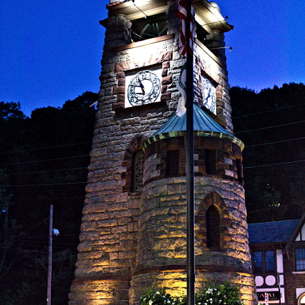 Roslyn Clock Tower, Canon EOS REBEL T6I, Canon EF-S 18-55mm f/3.5-5.6 IS STM