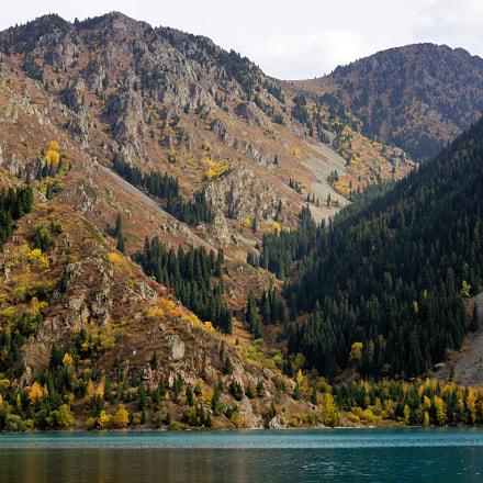 Issyk lake (Almaty, Kazakhstan), Sony SLT-A77V, Carl Zeiss Vario-Sonnar T* DT 16-80mm F3.5-4.5 ZA (SAL1680Z)