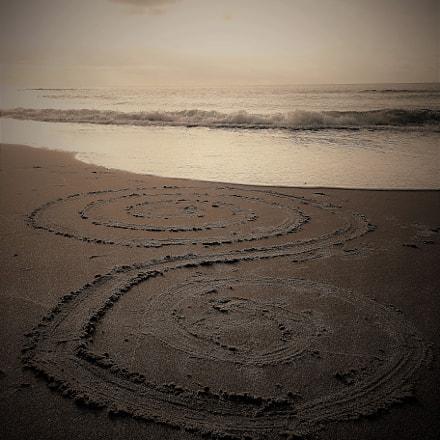 Spiral beach, Sony DSC-HX50