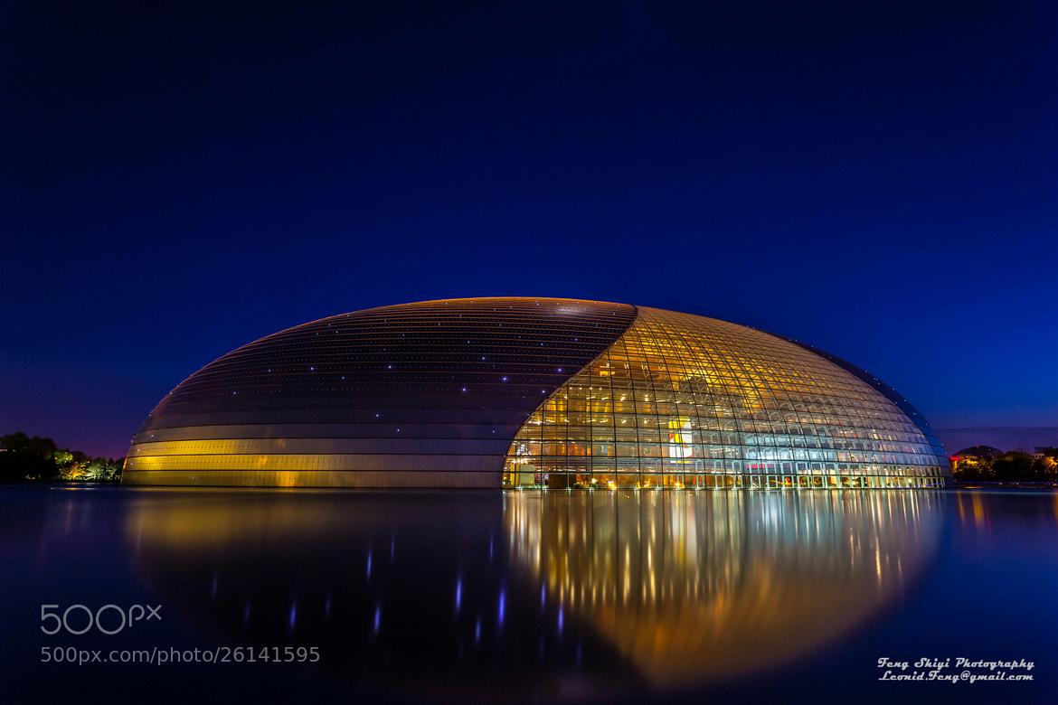 "Photograph CNCPA, the ""Big Egg"" by Shiyi  Feng on 500px"