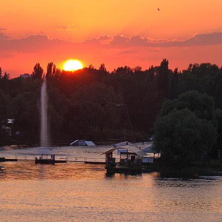 Dnipro river, Sony DSC-H9
