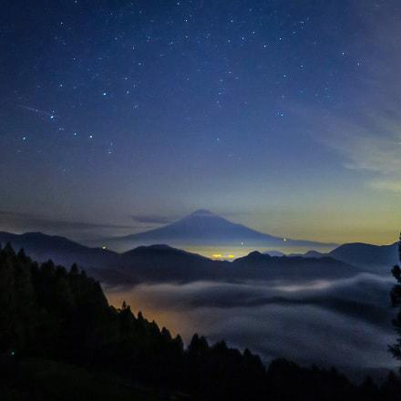 Mt. Fuji, sea of, Canon POWERSHOT S120