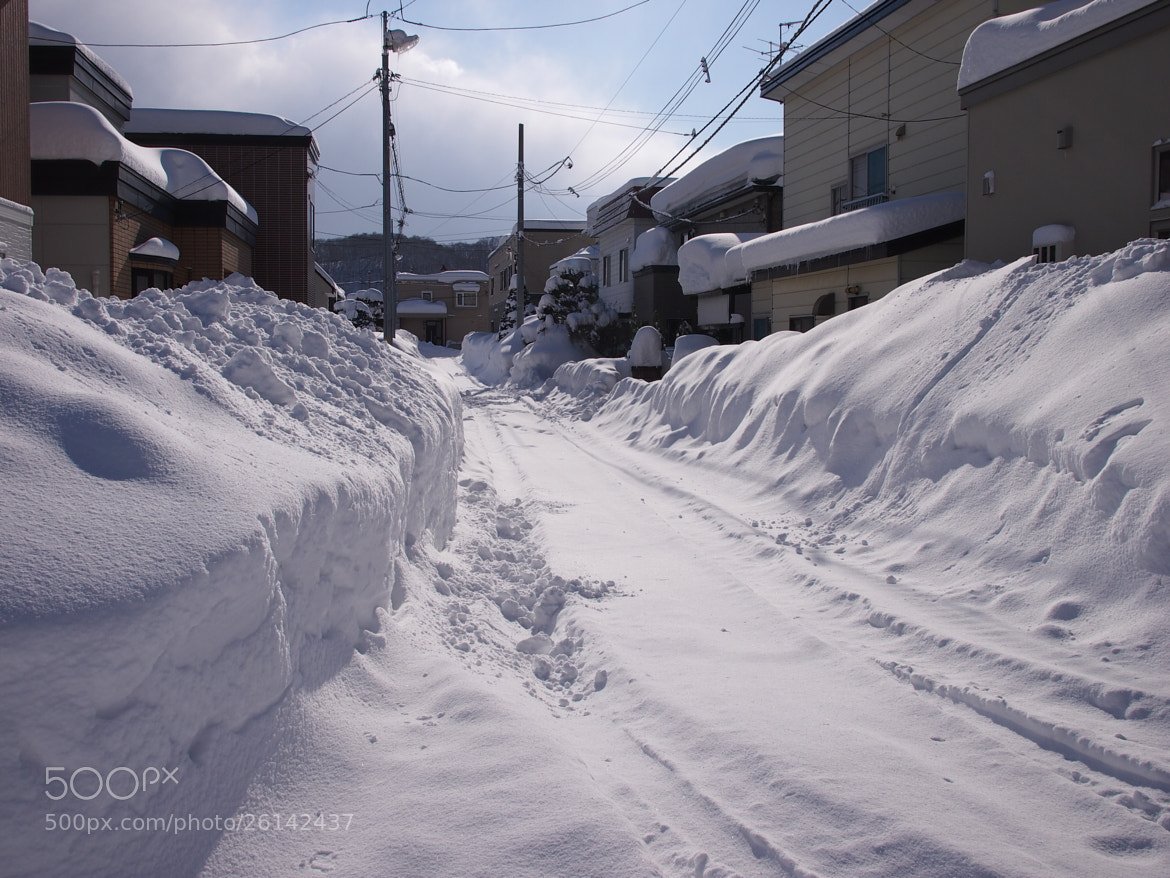 Photograph A street after heavy snow by Shinpei KODA on 500px