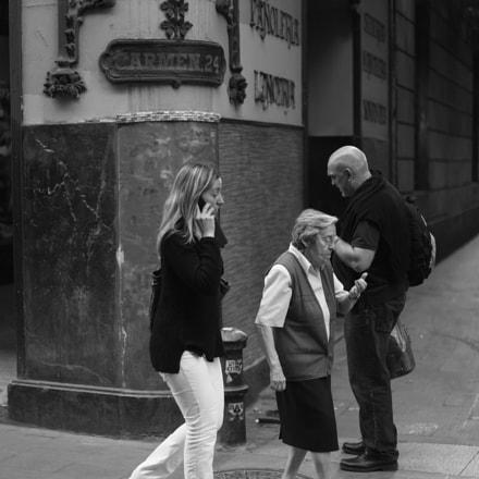 Gente en la calle, Canon EOS 6D, Canon EF 50mm f/1.2L