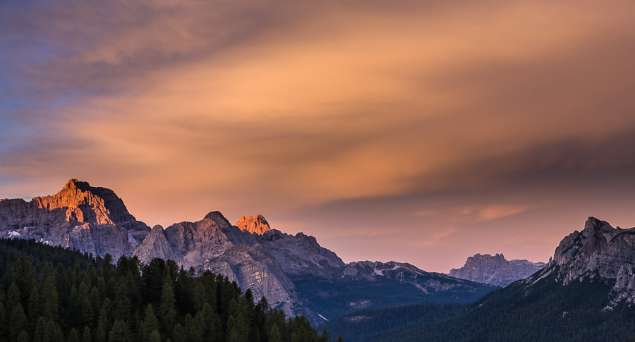 """<a href=""""http://www.hanskrusephotography.com/Workshops/Dolomites-September-9-13-2013/27288954_F322KR#!i=2313713609&k=6VnCcQn&lb=1&s=A"""">See a larger version here</a>  This photo was shot during preparations for photo workshops in the east part of the Dolomites in September 2011."""