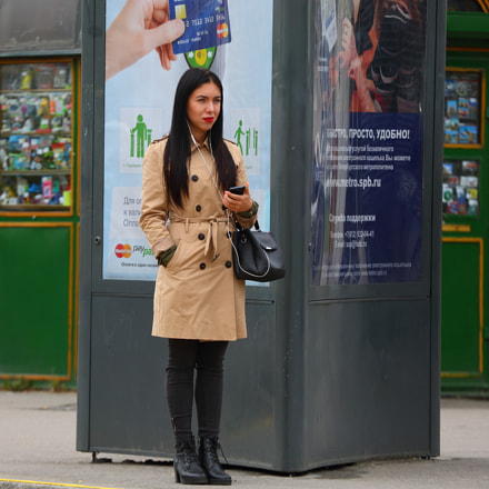 Girl in coat, Canon EOS 5D MARK III, Canon EF 70-300mm f/4-5.6L IS USM