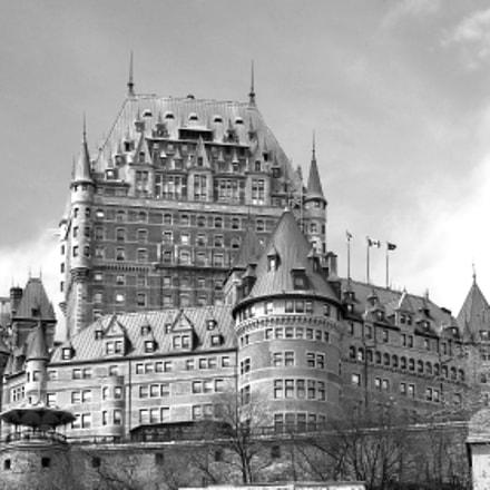 Hotel Chateau Frontenac Quebec, Fujifilm FinePix S2000HD S2100HD