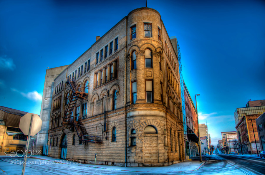 Photograph Mini Flat-iron Building HDR by Jason Foose on 500px