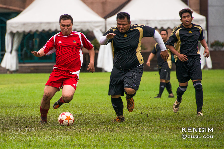 Photograph football challengingly by Ken Gim Seng Chye on 500px